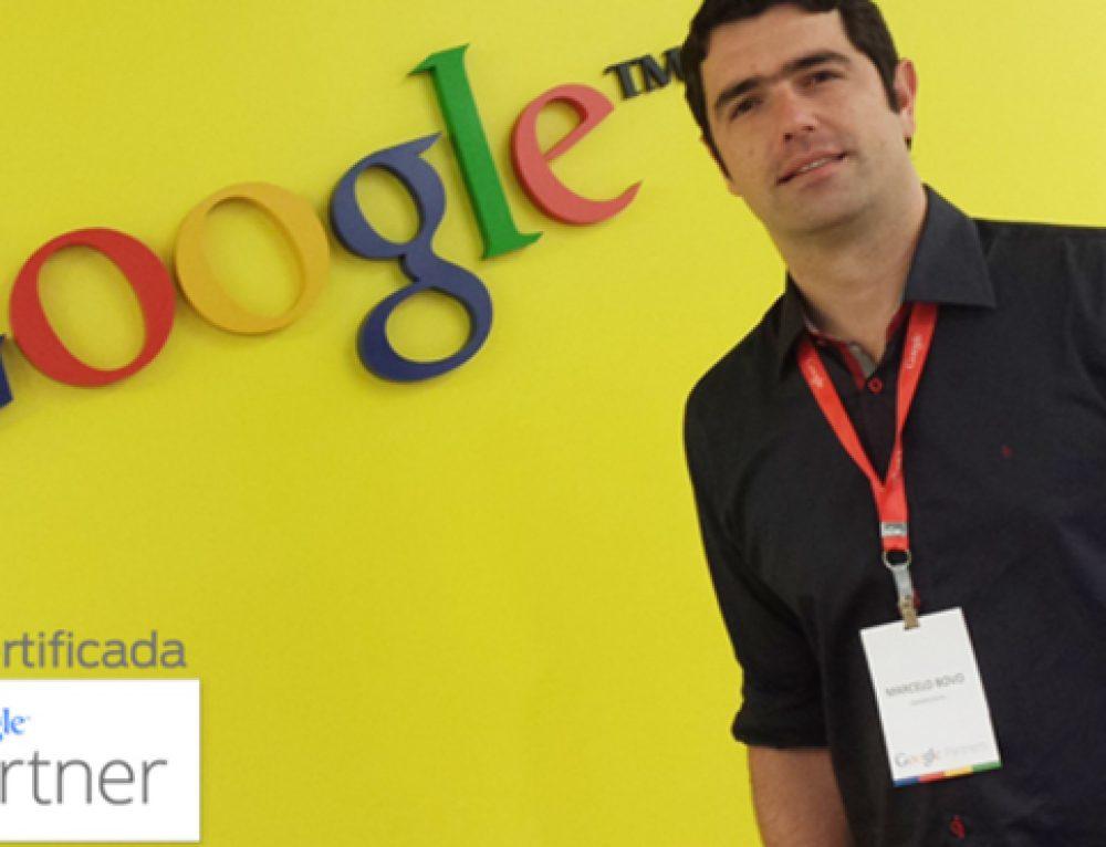 Dinaweb é a primeira agência de Franca certificada pelo Google Partners